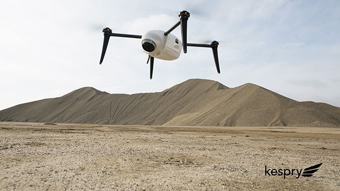 Kespry Announces Drone 2 with increased performance