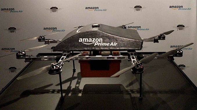Amazon Unveiled Its Highly Anticipated Prime Air Drones