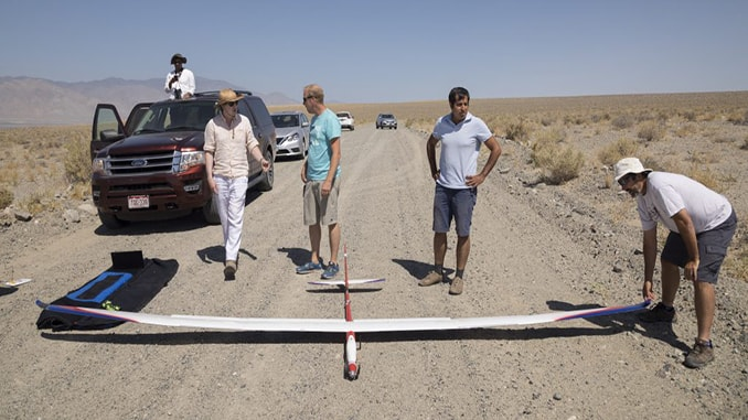 Microsoft Researchers Test AI-controlled UAS Soaring Machine