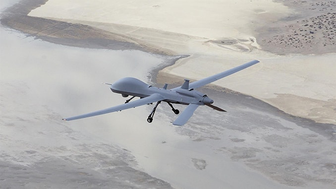 General Atomics Aeronautical Systems MQ-1C Gray Eagle Extended Range Flies 41.9 Hours