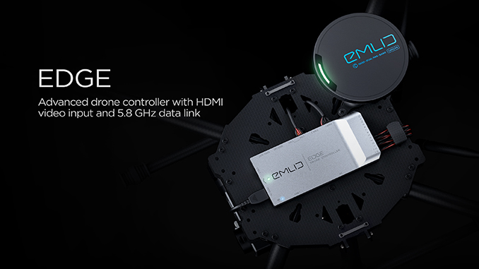 Emlid announces Edge: Advanced drone controller with HDMI video input and 5.8GHz data link
