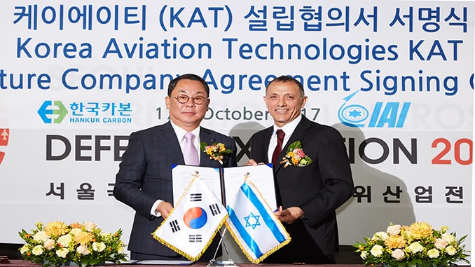 IAI and Hankuk Carbon Enter Joint Company Agreement