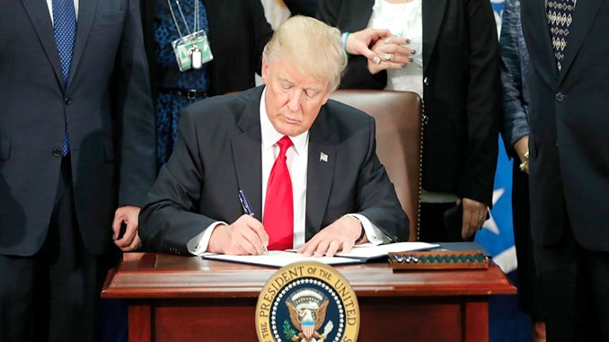 President Trump Just Signed Mandatory Drone Registration Back Into Law