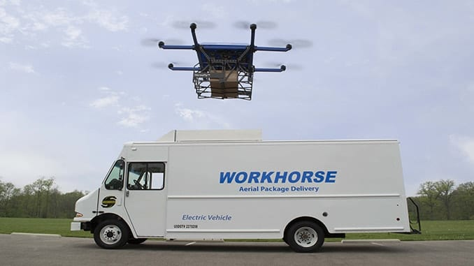 HorseFly Truck Launched Drone Package