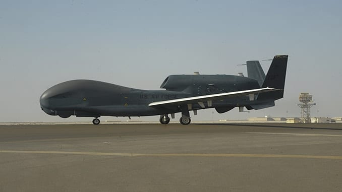 On Feb. 13, one of the U.S. Air Force RQ-4 Global Hawk drones reached 20,000 flight hours.