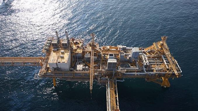 Offshore inspection for Dubai Petroleum