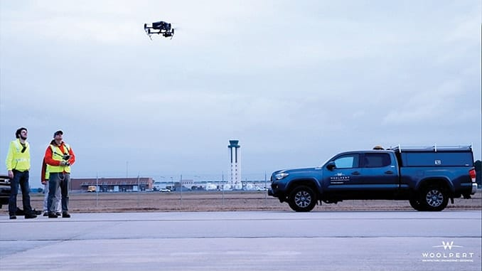 Woolpert Partners with Savannah/Hilton Head International Airport on Drone Utilization