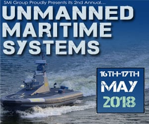 SMi's Unmanned Maritime Systems