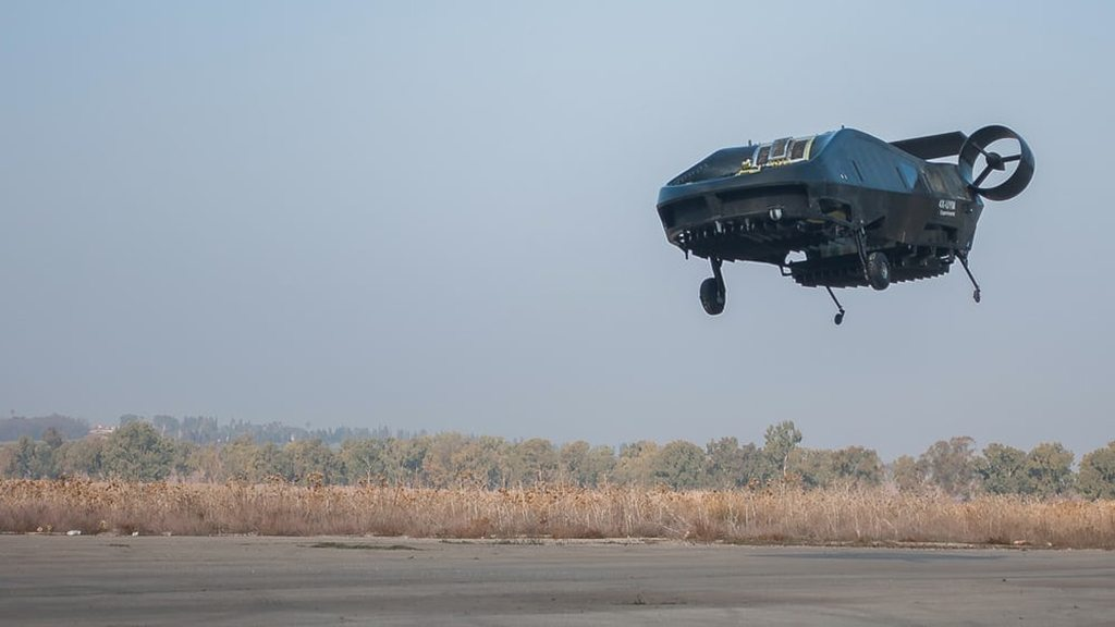 Tactical Robotics' Cormorant UAV (formerly known as the AirMule) has spent the Israeli summer being tested.