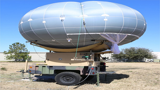 WASP Tactical Aerostat