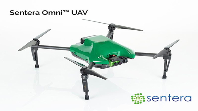 Sentera Launches New UAV - the Omni