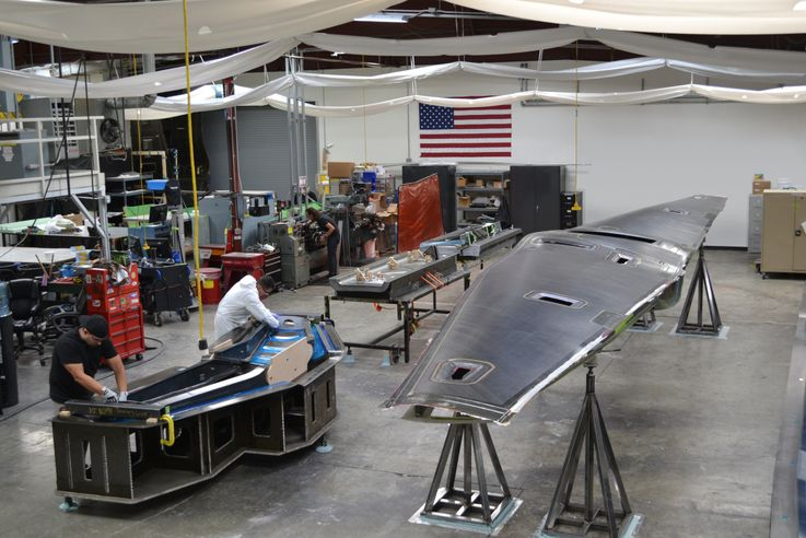 DARPA has teamed up with Northrop owned Scaled Composites. Photo by Scaled Composites.
