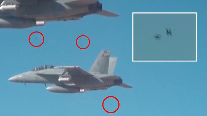 Secretive DOD office reveals swarming Perdix UAVs