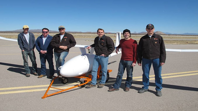 diesel-powered UAV