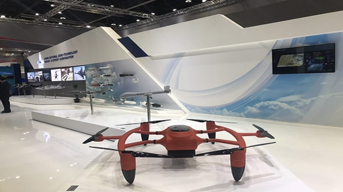 Hydrogen-powered Drone —Star Drone in IDEX