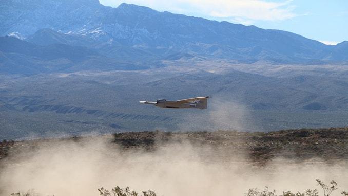 Desert Oasis for Testing Big UAS