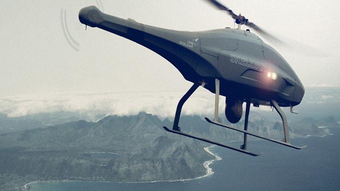 Skeldar V-200 drone