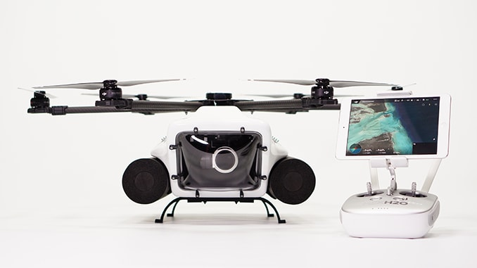 QuadH20 Unveils its Latest Waterproof Drone The HexH2o Pro V2