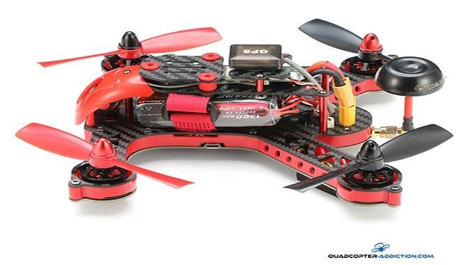 Review: Eachine Blade 185 RTF GPS OSD FPV Racer Drone Flight