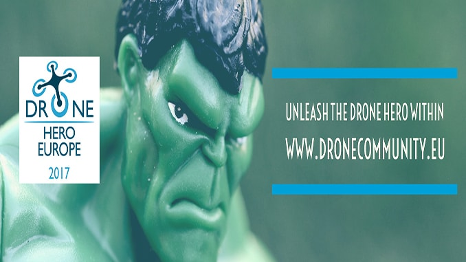Drone Hero Finalists to Battle it Out in Brussels!