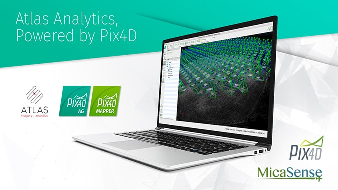 MicaSense Atlas is now integrated with Pix4D desktop software
