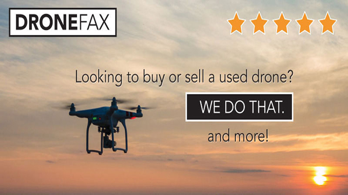 DRONEFAX offers a first-of-its-kind used drone brokerage service that includes physical inspection of every vehicle by a licensed FAA technician.