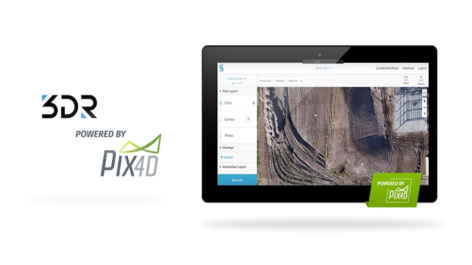 3DR Site Scan Processing Now Powered By Pix4D