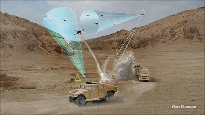 Mobile Force Protection Aims to Thwart Adversaries' Small Unmanned Aircraft