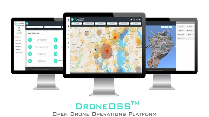 ANRA Introduces Drone Agnostic Cloud Based BVLOS C2 Solution