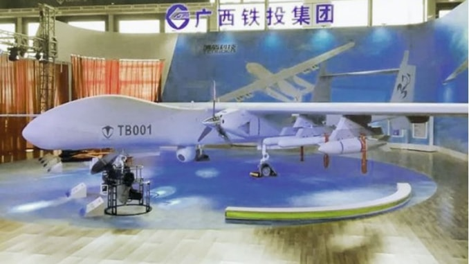 Chinese company Tengoen unveils several armed UAVs