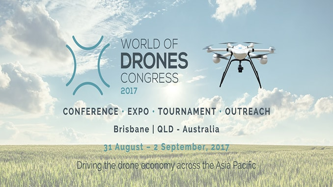JTT UAV at World of Drones Congress in Brisbane