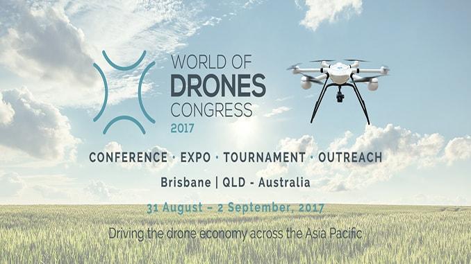 JTT UAV at World of Drones Congress in Brisbane
