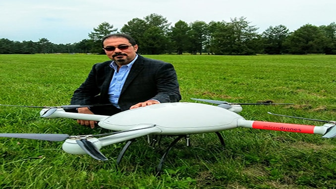 Dr. Mohamed Mostafa Presents at UAV's in Geomatics Conference