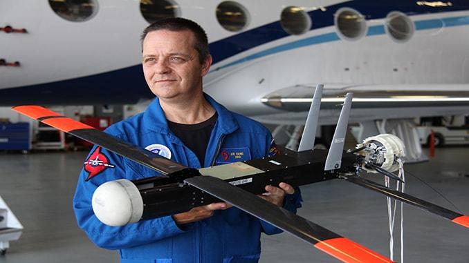 Raytheon Coyote UAVs help NOAA track, model Hurricane Maria