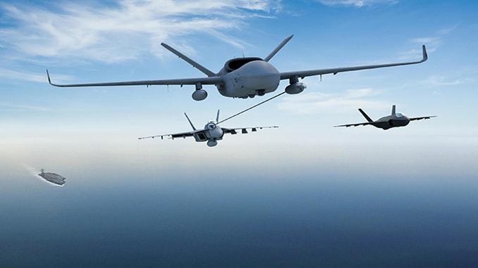 MQ-25 Stingray aerial tanker