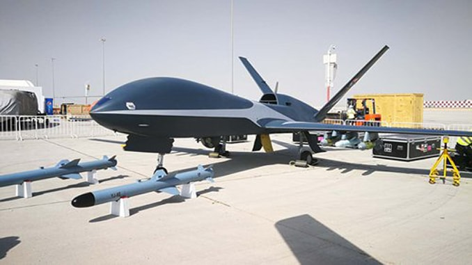 'Cloud Shadow' High-altitude Drone Debuts At Dubai Air Show
