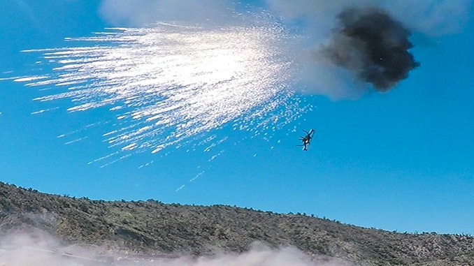 Orbital ATK's has demonstrated that its Bushmaster Chain Guns with Programmable Air Bursting Munition (PABM) can successfully down hostile drones in tactical scenarios.