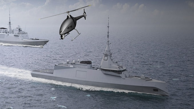 Naval Group, Airbus collaborate on helicopter drone project