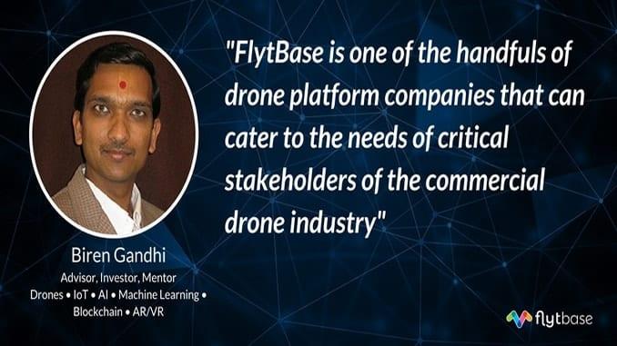 Biren Gandhi Joins FlytBase Advisory Board
