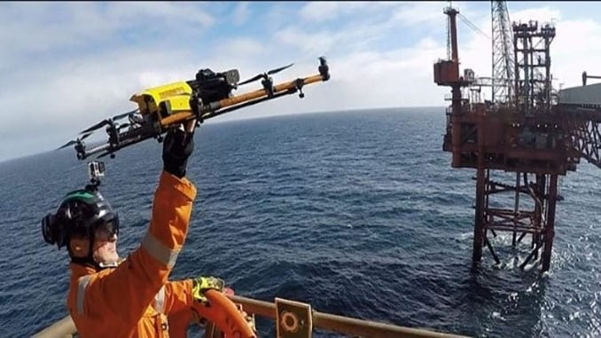 Texo DSI and Scottish Fishermen's Federation launch offshore UAV deployment platform