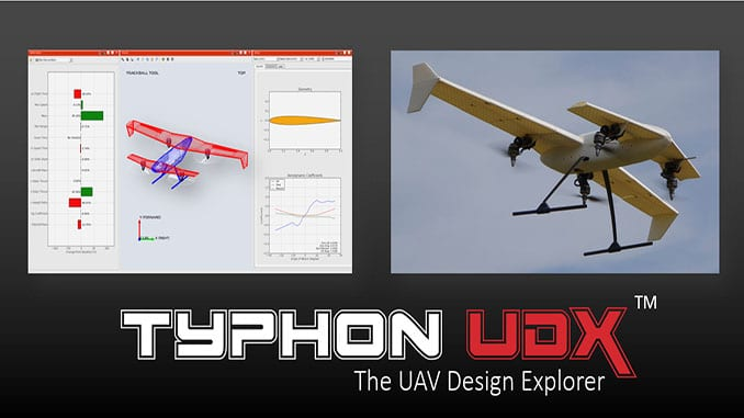 Development Of Hybrid Tilt Rotor Vtol Uav Using Typhon Udx Design Software Uasweekly Com