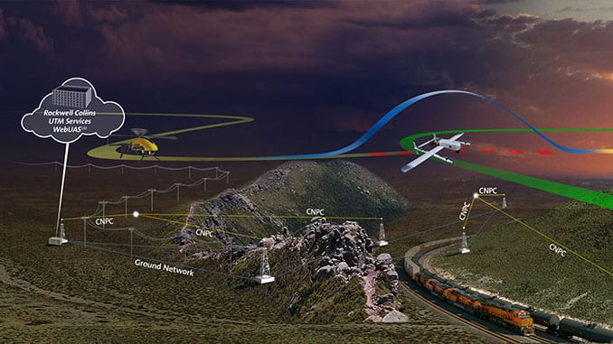 Rockwell Collins Enables Airspace Management During Test Flights For NASA's UAS Traffic Management program