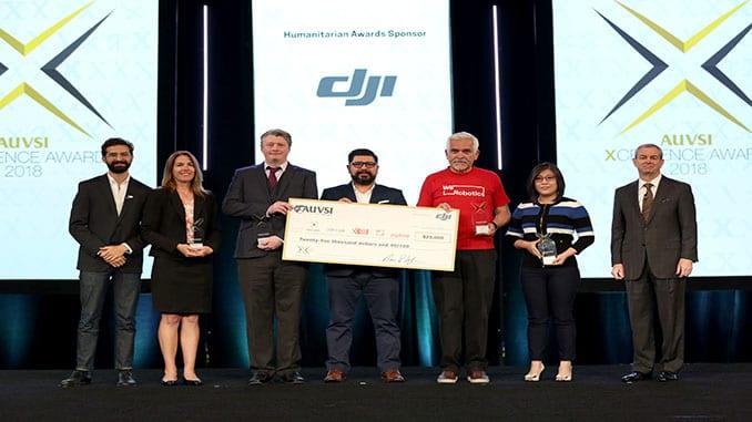 Five Companies Share Inaugural AUVSI XCELLENCE Humanitarian Award