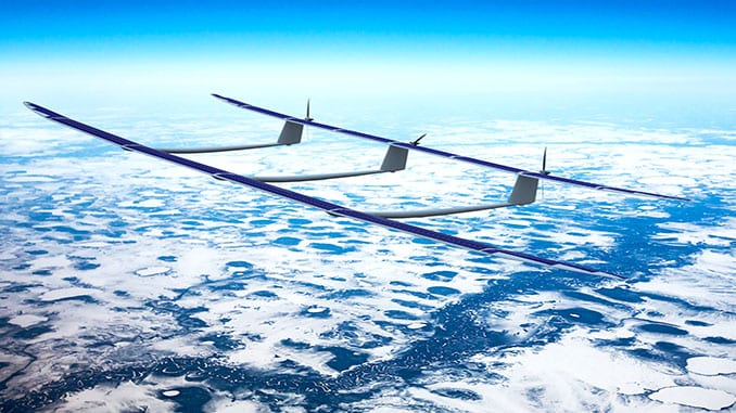 UAVOS solar powered aircraft