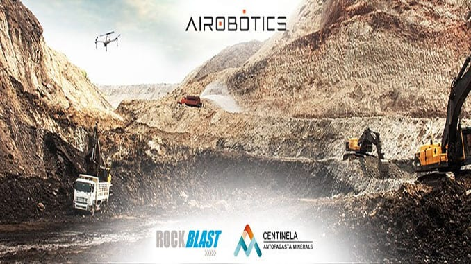 Airobotics Partners Exclusively with RockBlast to Bring Automated Drones to Chile