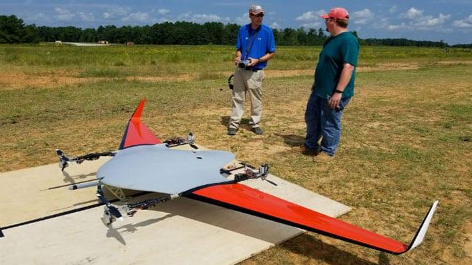 Textron Unveils Thrust-vectoring X5-55 VTOL Drone