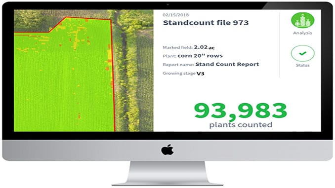 Agribotix Introduces New Plant Count Report