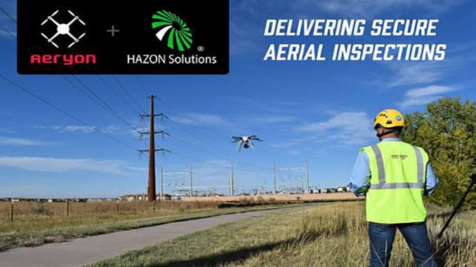 Aeryon Partners with HAZON Solutions