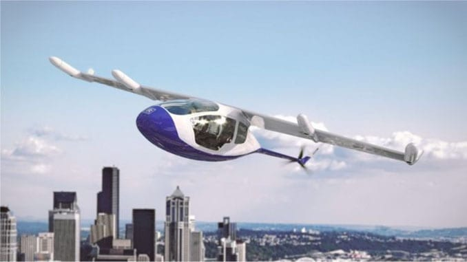 Rolls-Royce EVTOL Flying Taxi Concept Packs Electric Propulsion
