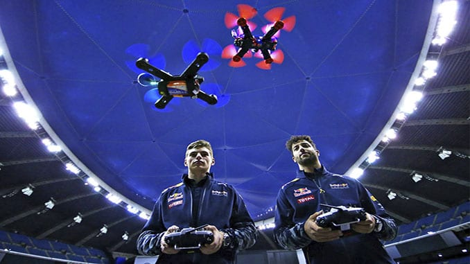 International Drone Racing Grand Prix Kicks Off in Southwest China's Chongqing